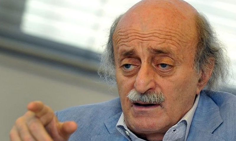 """رئيس """"الحزب التقدمي الاشتراكي"""" اللبناني، وليد جنبلاط (تويتر)"""