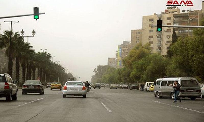 أجواء غائمة في دمشق (سانا)