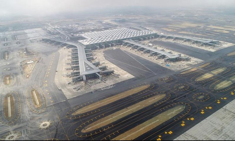 مطار اسطنبول الجديد - (خبر تورك)