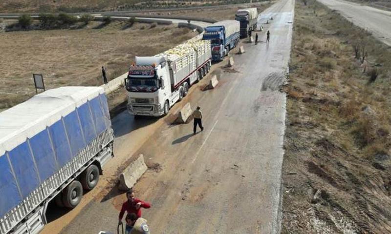 معبر مورك في ريف حماة الشمالي - (تحرير الشام)