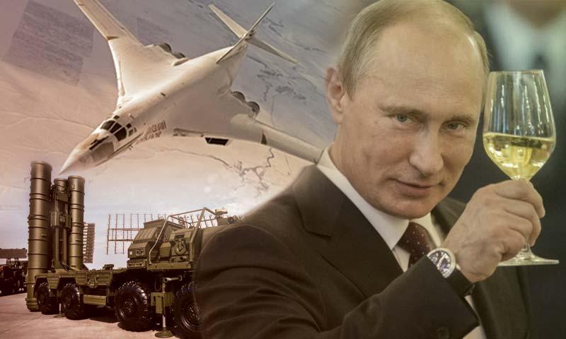 الرئيس الروسي، فلاديمير بوتين (تعديل عنب بلدي)