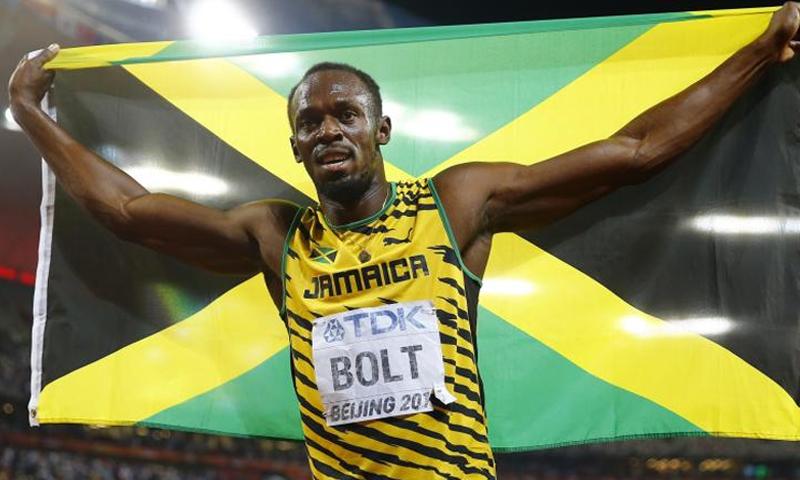 العداء الجامايكي أوساين بولت (Kai Pfaffenbach )