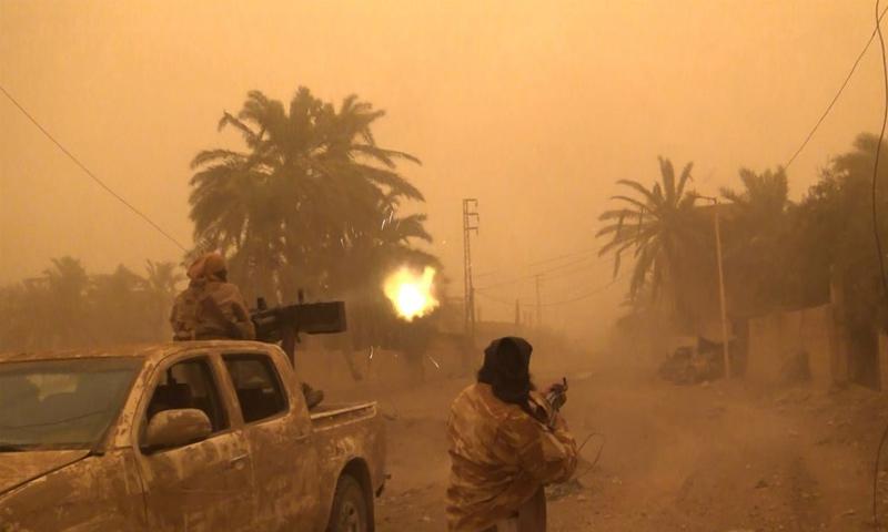 تنظيم الدولة في أثناء الهجوم على بلدة غرانيج - 25 من تشرين الأول 2018 (أعماق)