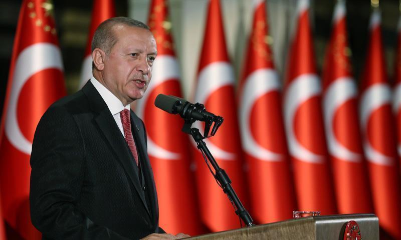 الرئيس التركي رجب طيب أردوغان - (الأناضول)