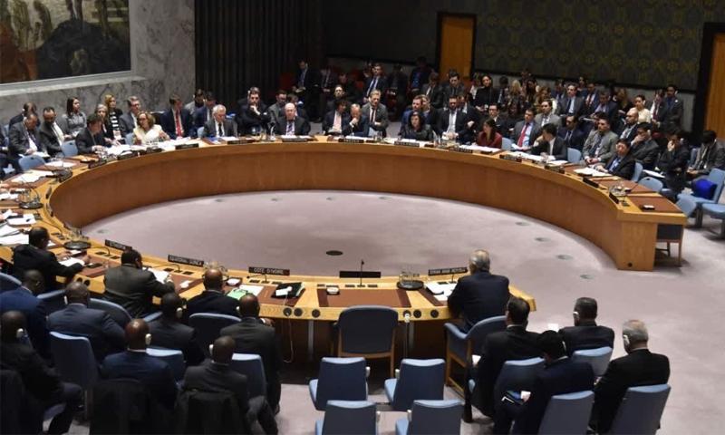 جلسة لمجلس الأمن بشأن سوريا (AFP)