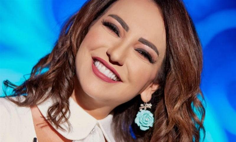 الممثلة أمل عرفة (البعث ميديا)