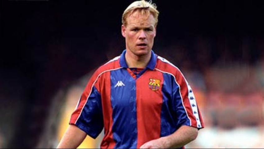 لاعب برشلونة ومنتخب هولندا السابق رونالد كومان (FCB)