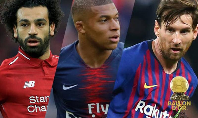 """المرشحين الثلاثة الأبرز لجائزة """"الكرة الذهبية"""" المقدمة من مجلة """"فرانس فوتبول الفرنسية-(فرانس برس)"""