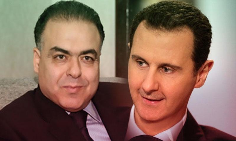 هيثم سطايحي وبشار الأسد (تعديل عنب بلدي)