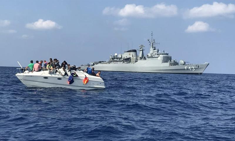 العثور على قارب يقل سوريين من لبنان إلى قبرص- 12 تشرين الأول (يونيفيل)
