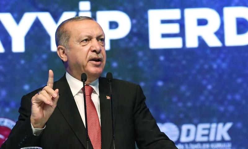 الرئيس التركي، رجب طيب أردوغان (صحيفة حرييت)