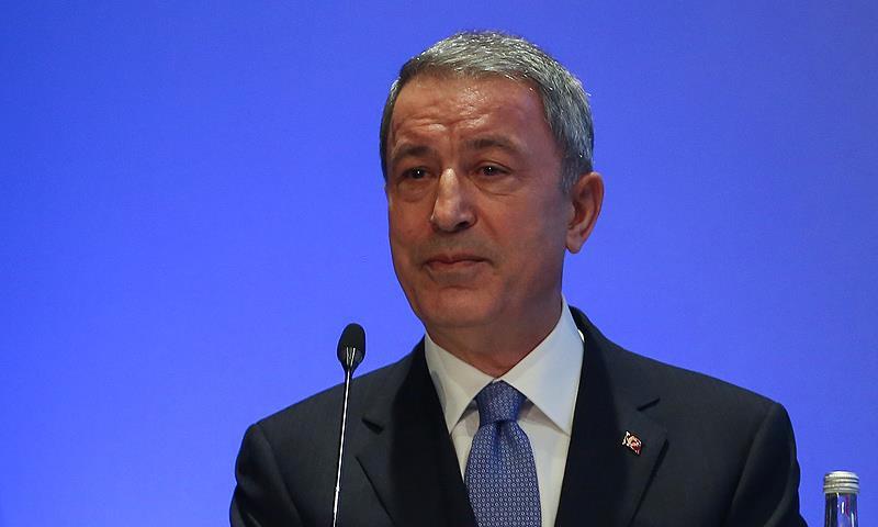 وزير الدفاع التركي، خلوصي آكار - 9 من تشرين الأول 2018 (الأناضول)
