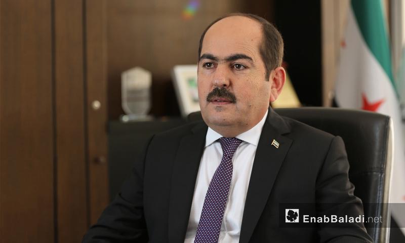 رئيس الائتلاف السوري المعارض عبد الرحمن مصطفى - (عنب بلدي)