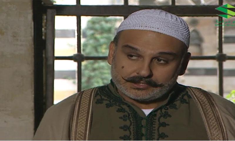 الممثل جمال سليمان في مسلسل أهل الراية (يوتيوب)