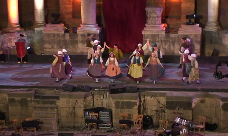 فعاليات مهرجان بصرى 2009 (يوتيوب)