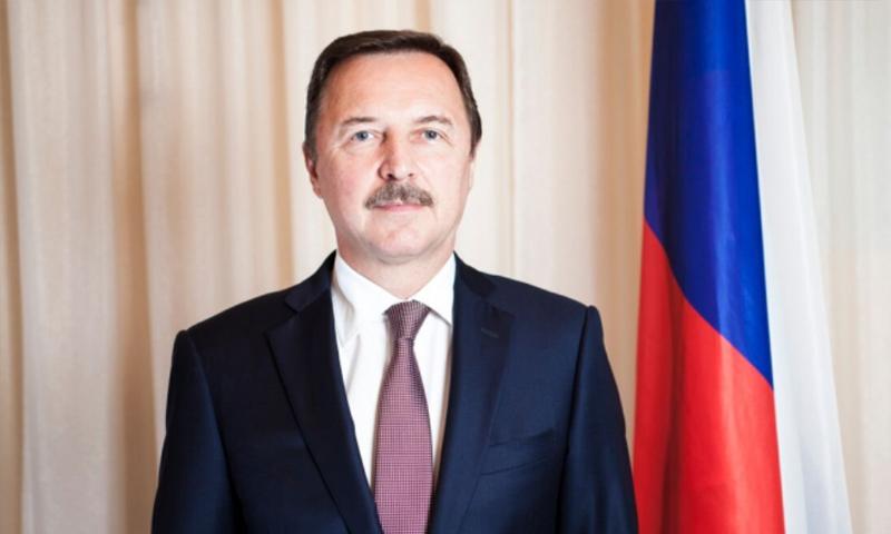 السفير الروسي الجديد لدى دمشق ألكسندر يفيموف
