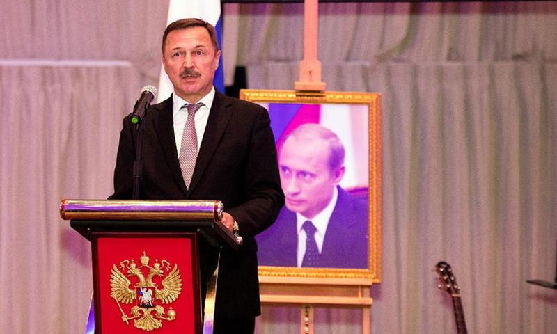 السفير الروسي الجديد لدى دمشق ألكسندر يفيموف (russianemirates)