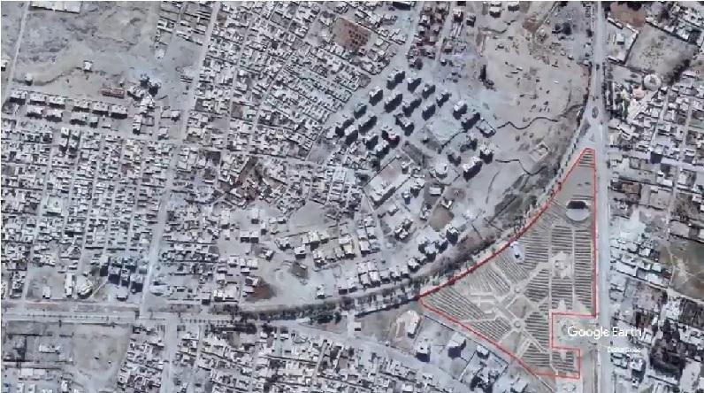 """المقابر الجماعية في الرقة باتت مرئية عبر """"جوجل إرث"""" (فيديو)"""
