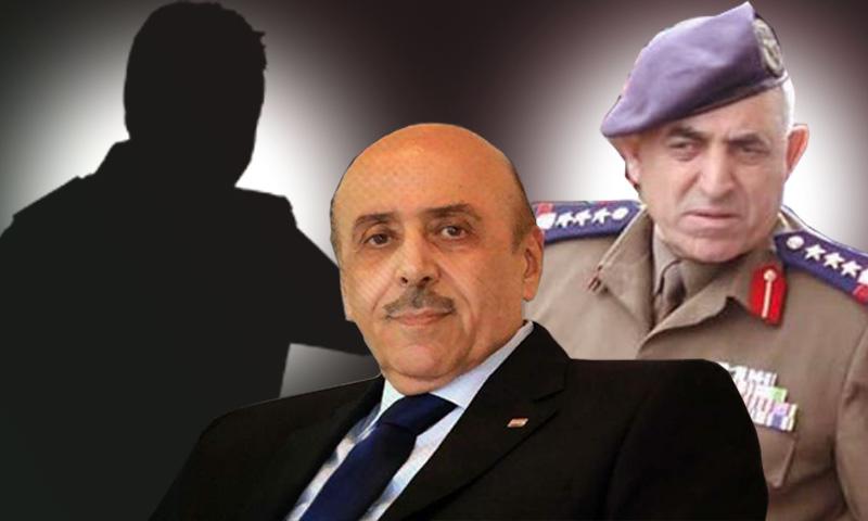 الضباط في المخابرات السورية جميل حسن وعلي مملوك وعبد السلام محمود (تعديل عنب بلدي)