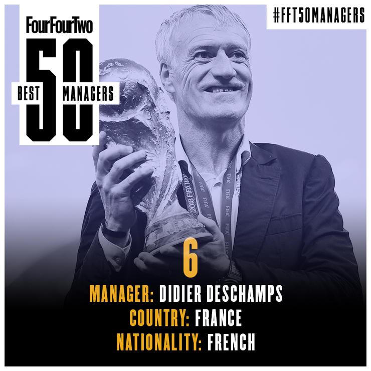 مدرب المنتخب الفرنسي ديديه ديشامب (FOUR FOUR TWO)