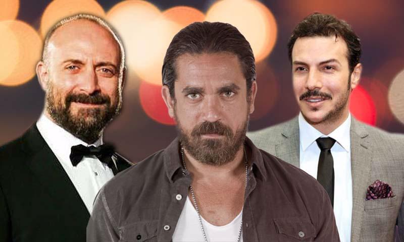 الممثلون باسل خياط، أمير كرارة، وخالد أرغنش (تعديل عنب بلدي)