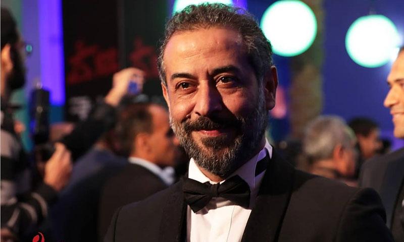 الممثل عبد المنعم عمايري من مهرجان أيام قرطاج السينمائية (فيس بوك)