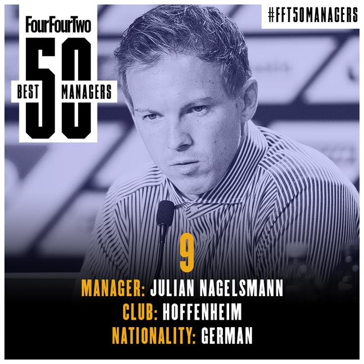 مدرب نادي هوفنهايم الألماني، يوليان ناغلسمان (FOUR FOUR TWO)