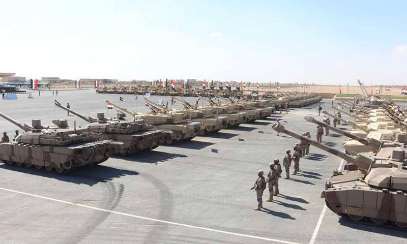 """انطلاق مناورات """"درع العرب-1"""" في مصر (سكاي نيوز)"""