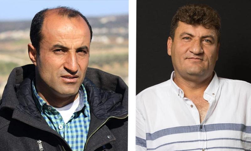 الناشطان السوريان رائد فارس وحمود جنيد