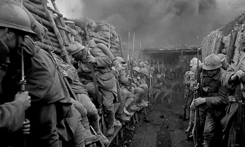 """فيلم """"Paths of glory"""" واحد من أضخم الأعمال عن الحرب العالمية الأولى"""