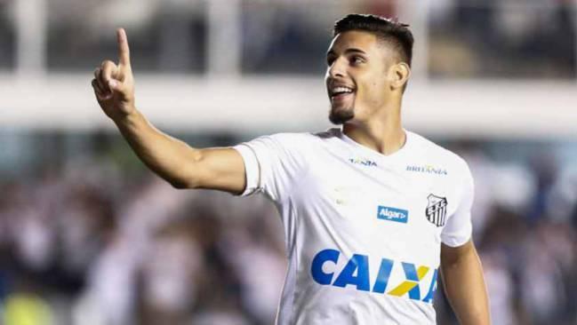 مهاجم نادي سانتوس والمنتخب البرازيلي يوري ألبرتو (AS)