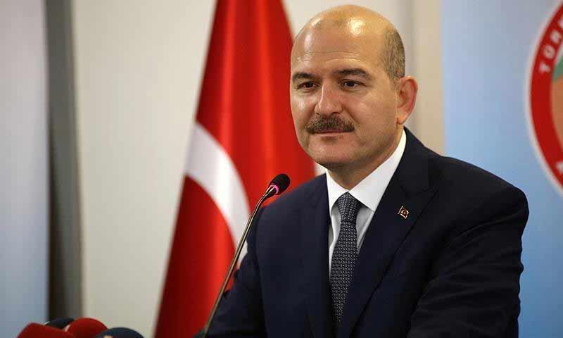 وزير الداخلية التركي سليمان صويلو (الاناضول)