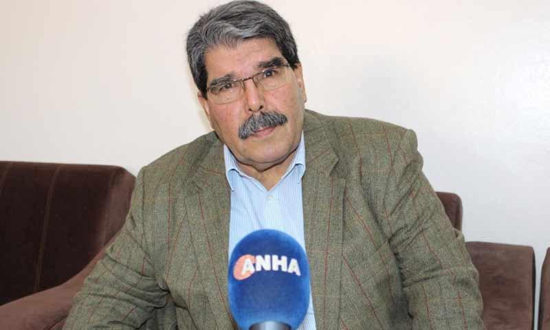 """الرئيس السابق لحزب """"الاتحاد الديمقراطي"""" (الكردي)، صالح مسلم (وكالة هاوار)"""