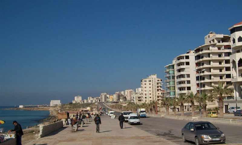 حي الكورنيش الجنوبي في اللاذقية (شبكة اللاذقية)