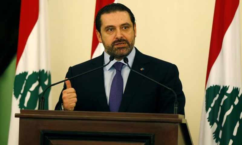 رئيس الحكومة اللبنانية سعد الحريري (تويتر)