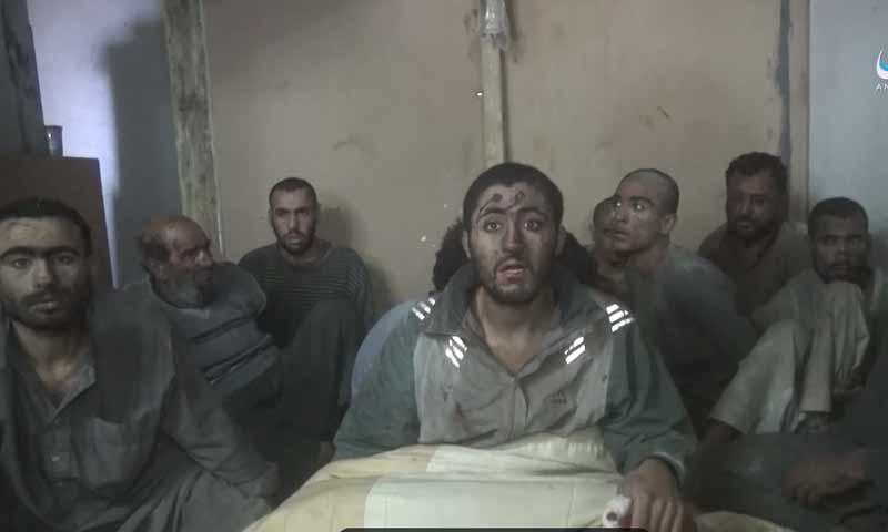 """أسرى من """"قوات سوريا الديمقراطية"""" قال تنظيم """"الدولة"""" إنهم تعرصوا لقصف من التحالف الدولي - 29 تشرين الثاني 2018 (أعماق)"""