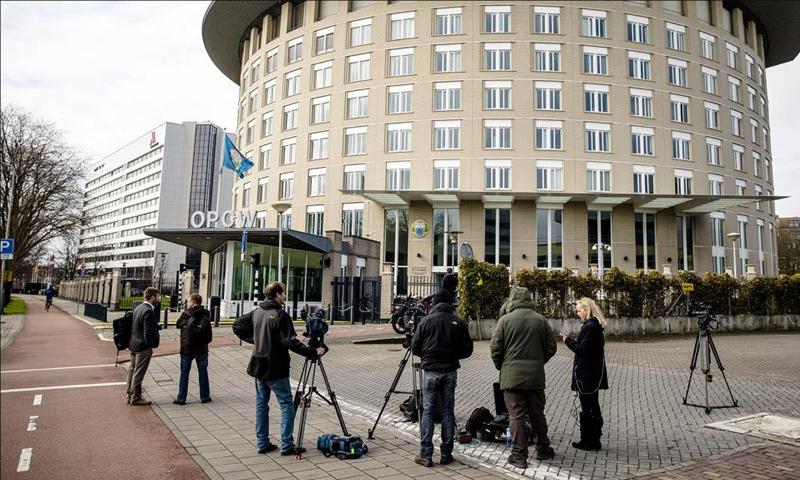 مقر منظمة حظر الأسلحة الكيماوية في لاهاي - (انترنت)