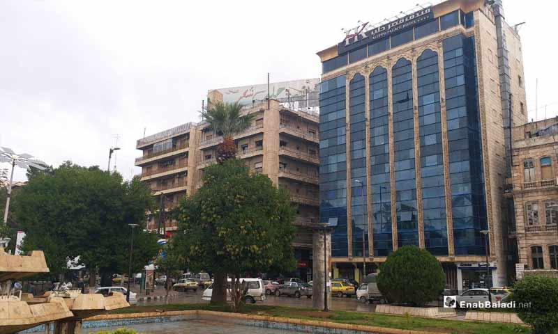 فندق قصر حلب اشهر الفنادق في المدينة- 7 تشرين الثاني 2018 (عنب بلدي)