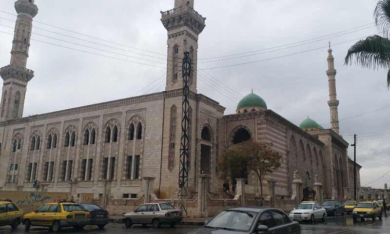 جامع المشارقة في مدينة حلب-7 تشرين الثاني 2018 (عنب بلدي)