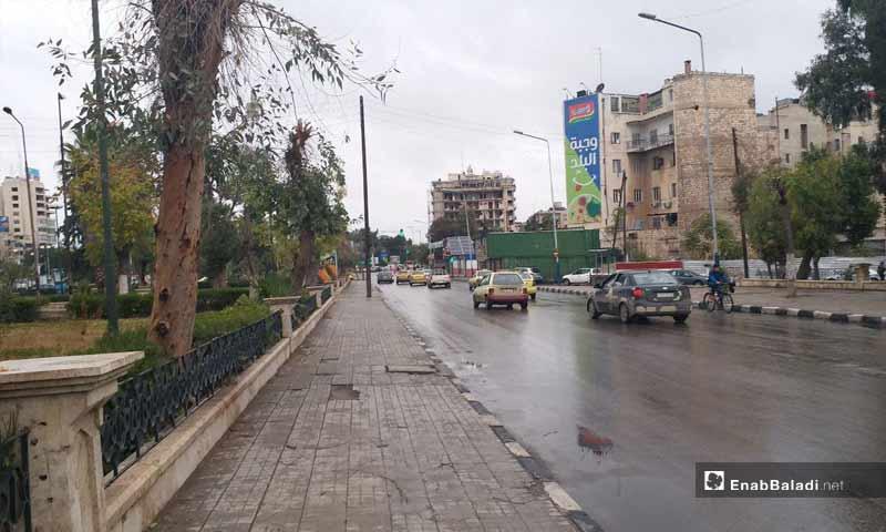 الحديقة العامة في حلب- 7 تشرين الثاني 2018 (عنب بلدي)
