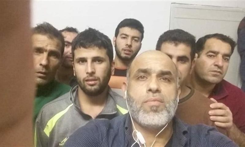 سوريون كانوا محتجزين في الجزائر - تشرين الثاني 2018 (فيس بوك)