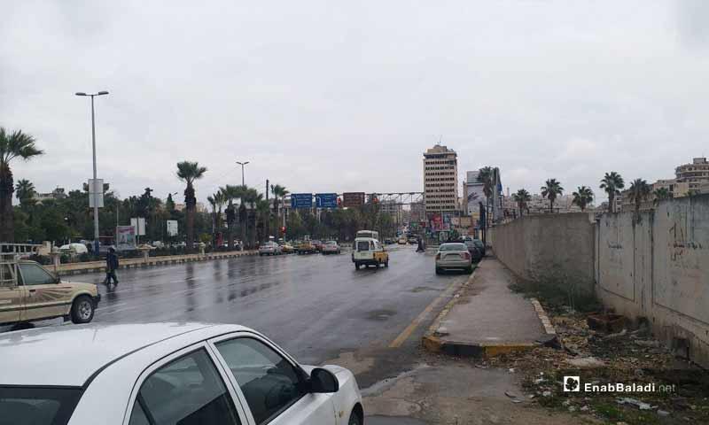 طريق القلعة في حلب-7 تشرين الثاني 2018 (عنب بلدي)