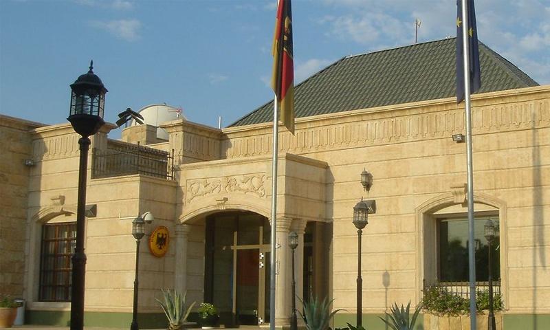 مبنى القنصلية الألمانية في أربيل (موقع وزارة الخارجية الألمانية)