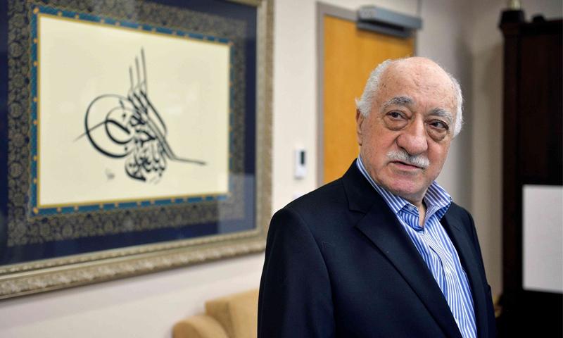 الداعي الإسلامي فتح الله غولن المتهم بقيادة محاولة الانقلاب الفاشلة في تركيا، تموز 2016، (رويترز)