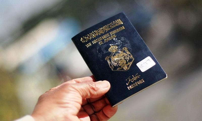 تعبيرية: جواز سفر أردني