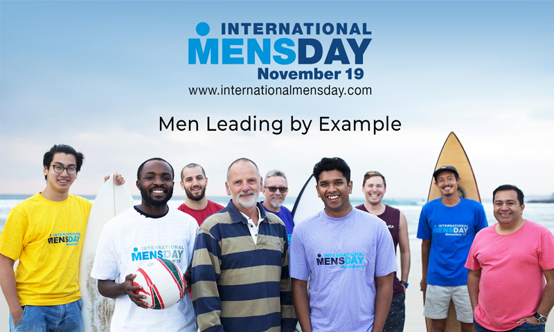 اليوم العالمي للرجل، 19 من تشرين الثاني 2018 (internationalmensday)