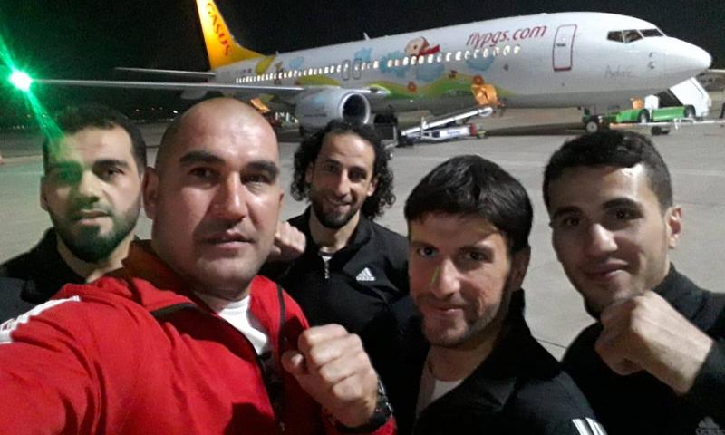 """وصول """"المنتخب السوري الحر لرياضة الموي تاي"""" إلى مدينة أنطالية التركية (الهيئة السورية للرياضة والشباب)"""