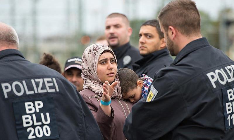 لاجئة سورية في ألمانيا (الأناضول)
