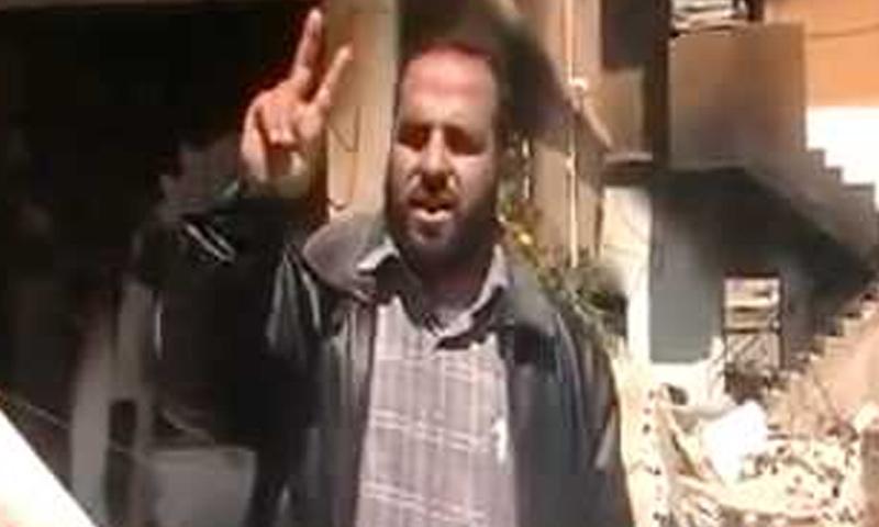"""القيادي السابق في """"جيش الثورة""""، فادي العاسمي - (فيس بوك)"""