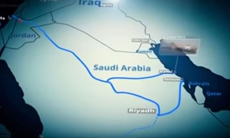 إسرائيل تروج لخطوط حديدية تربطها مع الخليج العربي (إسرائيل تتكلم بالعربية)